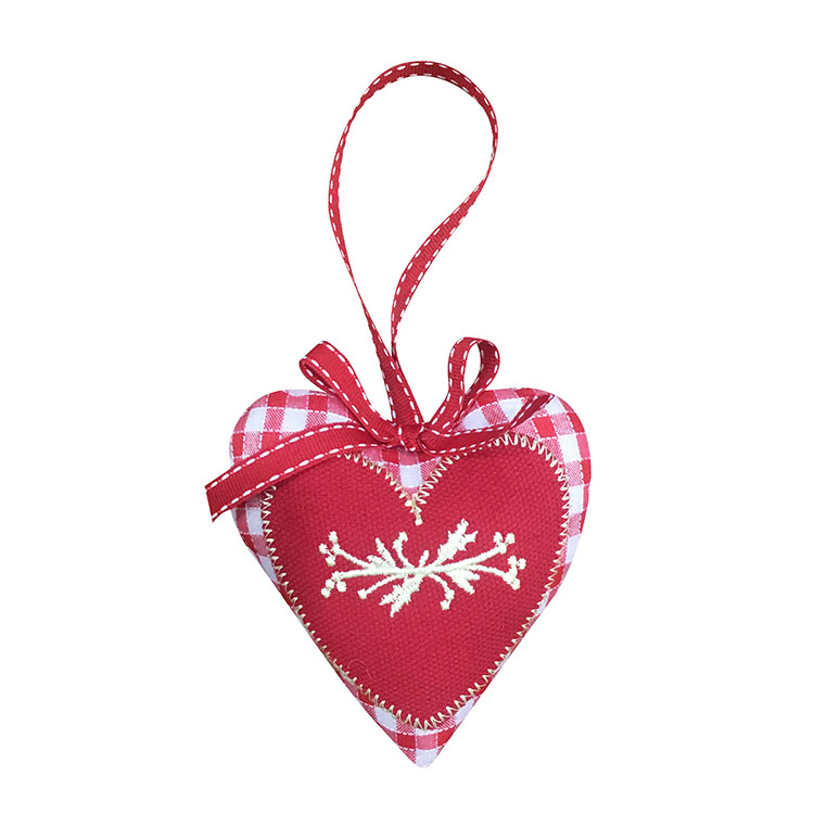 Christmas Heart Shape Hanging Ornaments