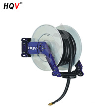 "A18 Stainless Steel Dual Arm Auto-Retractable Air Hose Reel, 3/8"" x 50 ft."