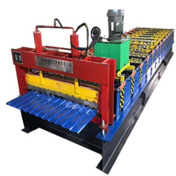 Taiwan trapezium dakpaneel making machine