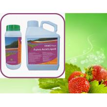 Acide fulvique liquide soluble d'engrais organique