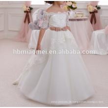 2016 Ins heißer Verkauf Blumenmädchen Kleid Spitze Baby Mädchen Hochzeit Kleid Großhandel