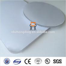 Feuille de polycarbonate translucide de qualité Zhongding