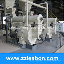 Green Energy Horizontal Rice Husk Waste Wood Pellet Machine