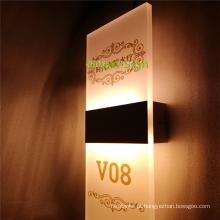 Personalizado fazer números de quarto de hotel para porta