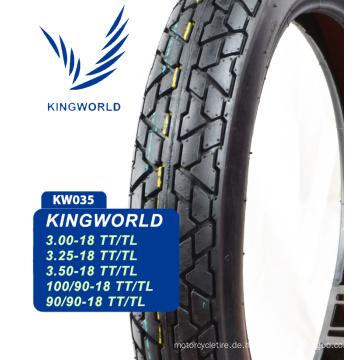 6pr tubeless Motorrad Reifen 3.25x18