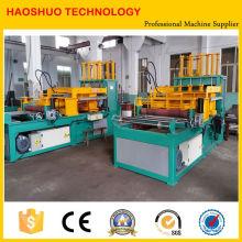 Venta caliente 2016 Haoshuo Roofing Roll Forming Machine Acanalado acanalado que forma la máquina