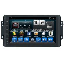 Atacado OEM Car dvd player Sistema de Navegação de Vídeo para Chery Tiggo 3X 2018 2017 2016 Unidade de Tela de GPS com Wifi Camera TV