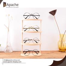 Professional Design for Sunglasses Display Stand Wooden Eyeglasses Counter Display For Eyewear Shop export to Bermuda Exporter