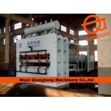 YX1200-4 * 8-D2 semi auto MDF melamina laminación prensa caliente