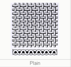 plain weave wire mesh draw