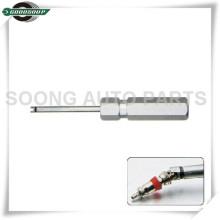 Nova ferramenta de extração de núcleo de válvula de ferramenta de núcleo de válvula de alça de alumínio