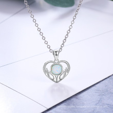 Opal Stone High End Popular 925 Sterling Silver Jewelry Opal Pendant