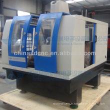 machine de gravure en métal cnc polyvalente / passe-temps 3d moule de fraisage cnc JK-6075