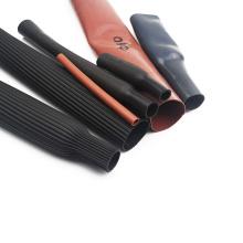 Tubo do psiquiatra do calor do silicone do preto livre do halogênio 5mm