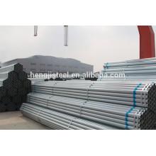 Ms erw tubo galvanizado sch40