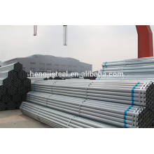 ms erw galvanized pipe sch40