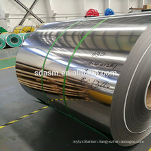 Grade 304 2b mirror finish stainless steel coil