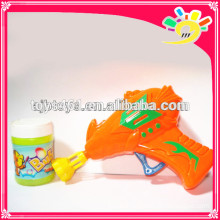 Funny Friction Bubble Gun Toy,Flashing Bubble Gun For Kids With Bubble Water