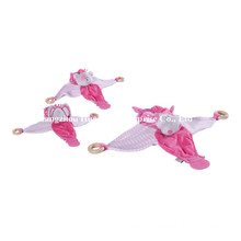 Factory Supply New Design of Baby Stuffed Plush Handkerchief