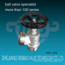 Wb-209 Wenzhou fábrica Ss304 válvula de hidrante de acero inoxidable Dn65 Dcfa