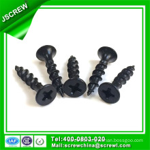 4mm Black Oxide Drywall Screws for Furniture
