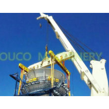 Ouco 26t37m Cargo Handling Heavy Duty Fixed Boom Marine Offshore Crane