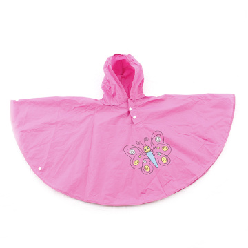 Customized Plsastic PVC Kanak-kanak Hujan hujan Raincoat poncho