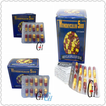 Antibióticos Amoxicilina 500Mg Cápsulas