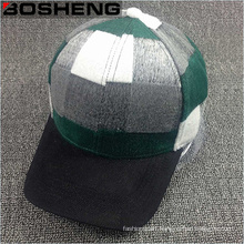 Winter Warm Large Lattice Lie Fallow Baseball Cap