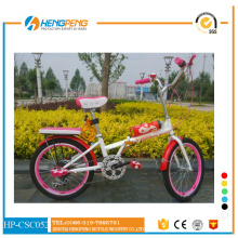 20 inch city bike with  color tire