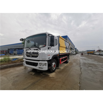 Hydraulic lifter container garbage truck