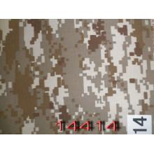 Khaki digitale 200GSM Twill Military Camouflage Stoff