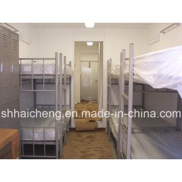 Contenedor de estructura de acero de panel sándwich Casa / Contenedor de 20 pies Viviendas