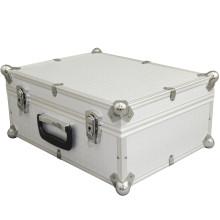 Silver Aluminum Auto Optical Dental Storage Cases