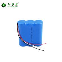 Paquete de batería de litio recargable de 18650 7500mAh 3.7V