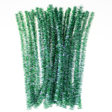 Kids educational toys glitter fuzzy wire stem