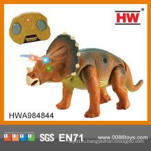 Новый предмет гигантский динозавр игрушка rc динозавр с легкими и музыка rc игрушки динозавра
