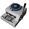Price Manual PVC Card Embossed Machine