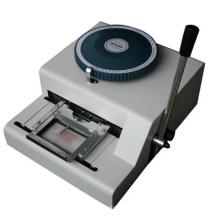 Precio de tarjeta de PVC manual de la máquina en relieve