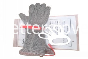 conew_dubetter metal mesh bucher gloves with long cuff