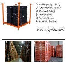 cremalheiras do armazenamento de pesados