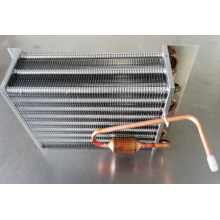 Heat exchanger for ice cream machine