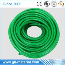 Tuyauterie élastique en caoutchouc verte flexible de tuyau en plastique de TPR pour l'équipement de sport