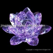 Кристалл Lotus цветок для подарков с популярных стилей в Китае
