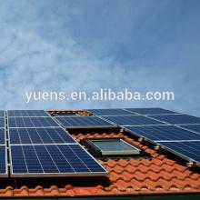 Montage de toit solaire Structure de panneau solaire
