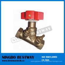 Messing-Ausgleichsventil Hersteller Fast Supplier (BW-V08)