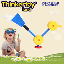 Duck Bloques de juguete de plástico Montessori Preschool Daycare Montor Skill