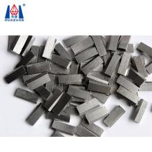 Roof type diamond concrete segment for masonry core bit