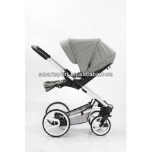 fancy and good baby stroller with sliver frame