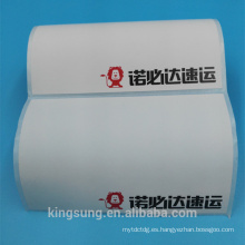 Pegatina térmica de papel adhesivo de fusión en caliente Eco